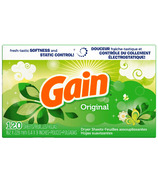 Gain Original Scent Dryer Sheets