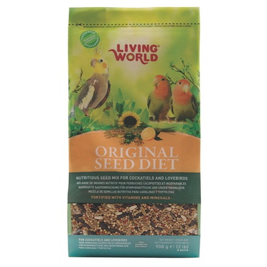 Buy Living World Original Seed Diet For Cockatiels And