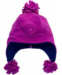 Calikids Microfleece Solid Hat Fuschia