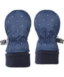 Kombi The Cutesy Infant Mitt Black Iris Micro Dot