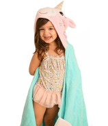 Zoocchini Toddler Hooded Towel Allie the Alicorn