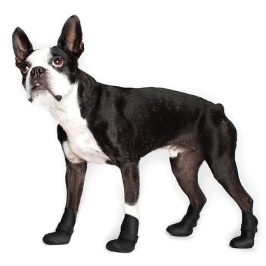 Wellies Boots for Dogs 3XL in Black