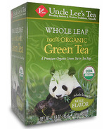 Uncle Lee's Whole Leaf 100% Organic Green Tea