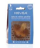 Hevea Anatomical Natural Rubber Car & Ufo Design Pacifier