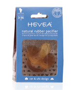 Hevea Anatomical Natural Rubber Car & Ufo Design Pacifier