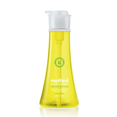 Method Dish Soap Pump in Lemon Mint