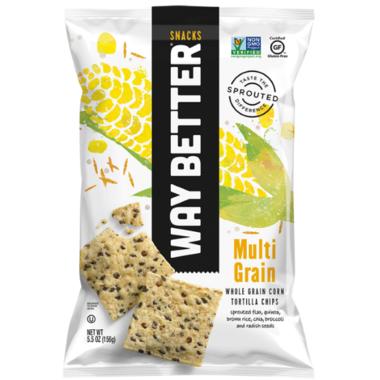 Way Better Snacks Multi-Grain Tortilla Chips