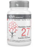 NOVA Probiotics Feminine 27 Billion CFU