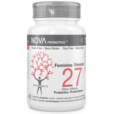 NOVA Probiotics Feminine 27 Billion CFU