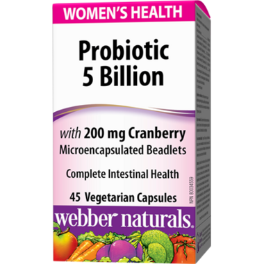 Webber Naturals Women\'s Probiotic With Cranberry