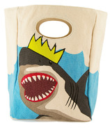 Fluf King Shark Organic Lunch Bag