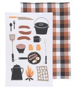 Now Designs Camp Cookout Dishtowels Set