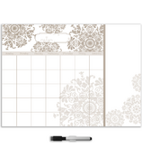 WallPops Kolkata Monthly Calendar Decal with Notes