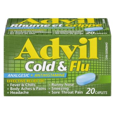 Advil Cold & Flu Caplets