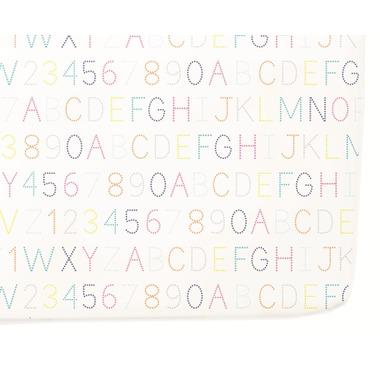 Petit Pehr Alphabet Crib Sheet