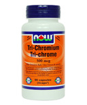 NOW Foods Tri-Chromium with Cinnamon Bark