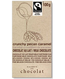 Galerie au Chocolat Pecan Caramel Crunch Milk Chocolate Bar