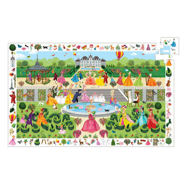 Djeco Observation Puzzle Garden Party