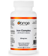 Orange Naturals Iron Complex