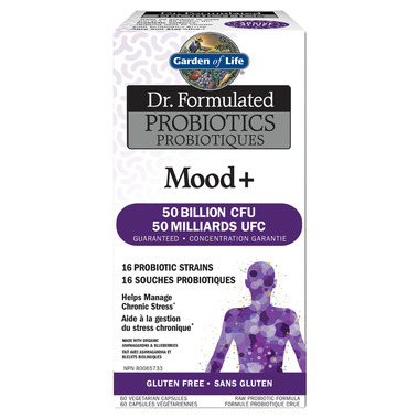 Buy garden of life dr formulated probiotics mood at free shipping 35 in canada for Garden of life probiotics mood