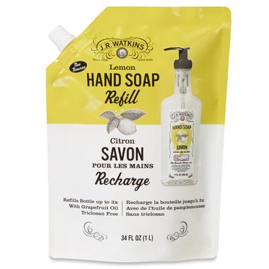 J.R. Watkins Lemon Liquid Soap Pouch Refill