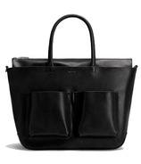 Matt & Nat Raylan Med Diaper Bag Black