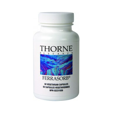 Thorne Research Ferrasorb Mineral