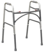 Drive Medical Bariatric Aluminum Folding Walker