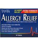 Tanta Allergy Relief Extra Strength Tablets