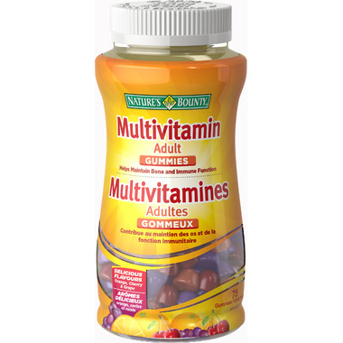 Nature\'s Bounty Your Life Adult Multivitamin Gummies