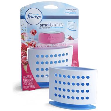 Febreze SmallSpaces Fresh Twist Cranberry Starter Kit Air Freshener