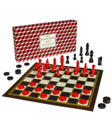 Ridley's Games Room Chess and Checkers Set