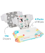 The Honest Company Size 4 Diapers & Wipes Bundle
