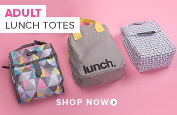 Adult Lunch Totes