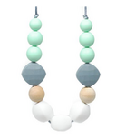 Glitter & Spice Silicone Teething Necklace Suri