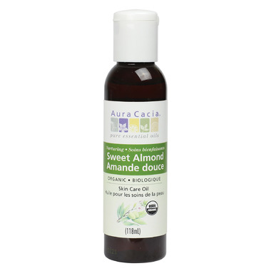 Aura Cacia Organic Sweet Almond Oil
