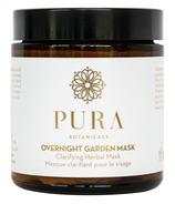 Pura Botanicals Overnight Garden Mask