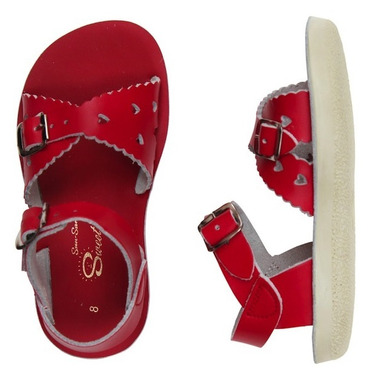 Salt Water Sandals Sweetheart Children\'s Sandal Red