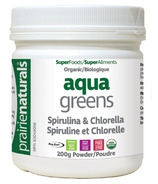 Prairie Naturals Aqua Greens Spirulina & Chlorella