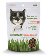Pet Greens Semi-Moist Cat Treats with Savoury Salmon