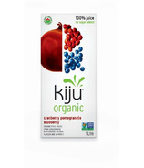 Kiju Organic Cranberry Pomegranate Blueberry Juice