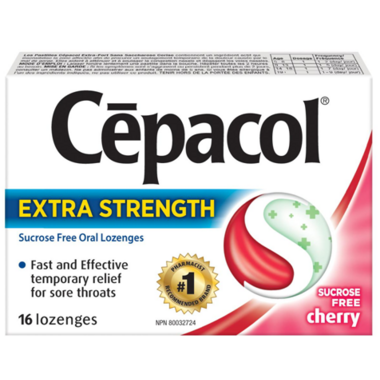Cepacol Extra Strength Sugar Free Lozenges