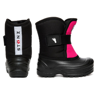 Stonz The Scout Bootz Pink & Black