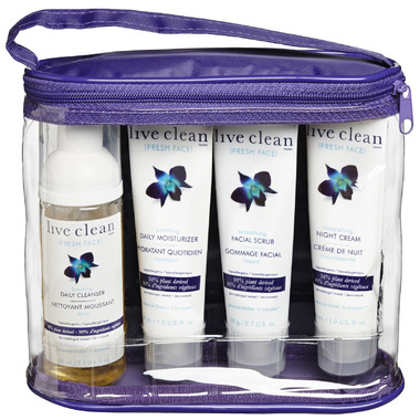 Live Clean Fresh Face Luxurious Trial & Travel Kit