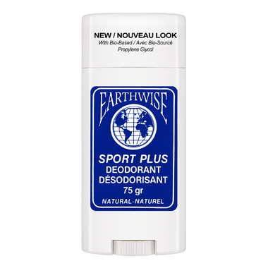 Earthwise Sport Plus Natural Deodorant