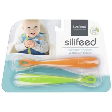 Kushies Silifeed Spoon Set