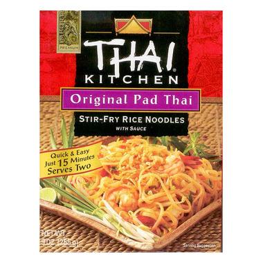 Thai Kitchen Original Pad Thai Stir Fry Noodles with Sauce