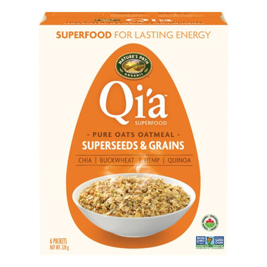 Nature\'s Path Qi\'a Pure Oats Oatmeal Superseeds & Grains