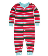 Hatley Baby Romper Holiday Stripes