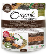 Organic Traditions Probiotic Smoothie Mix Chocolate Coconut